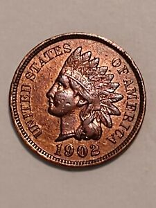 1902 UNITED STATES INDIAN HEAD CENT