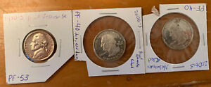 LOT 3 US CIRCULATED PROOFS 2006 S NEBRASKA & NEVADA STATE QUARTERS 1970 S JEFFER