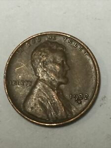 1932 D 1C LINCOLN WHEAT REVERSE CENT