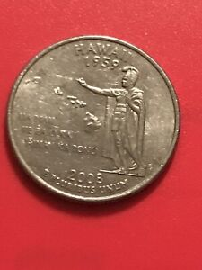 2008 P HAWAII 50 STATES QUARTER  BUY 6 GET 40   OFF IN US   924