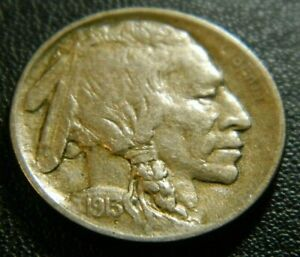 1913 BUFFALO NICKEL  TYPE 1       647