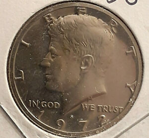 1972 S PROOF JOHN F. KENNEDY HALF DOLLAR