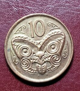 NEW ZEALAND COIN 2006   10 CENTS