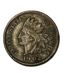 1902 1C INDIAN HEAD CENT