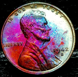 1942 S LINCOLN WHEAT PENNY CENT