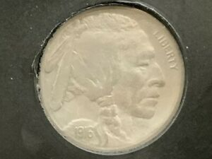 1916 S BUFFALO NICKEL WITH XF DETAILS