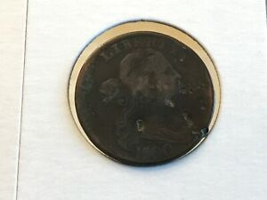 1800 FLOWING HAIR LARGE CENT S 191