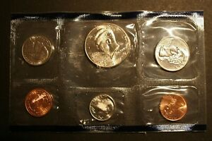 1995 P US UNCIRCULATED MINT SET STILL SEALED IN THE ORIGINAL MINT CELLOPHANE