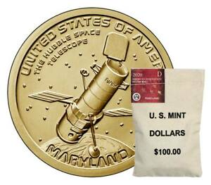 Click now to see the BUY IT NOW Price! P & D $100 US MINT BAGS 2020 MARYLAND AMERICAN INNOVATION DOLLARS MINT $200 FACE