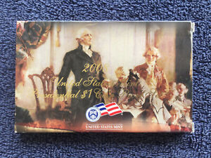 2008 US MINT PRESIDENTIAL $ 1 COIN PROOF SET