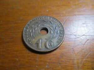 1942 P NETHERLANDS EAST INDIES 1 CENT