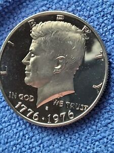 BICENTENNIAL HALF DOLLAR STRUCK IN 1975 ERROR DOUBLING ON  S