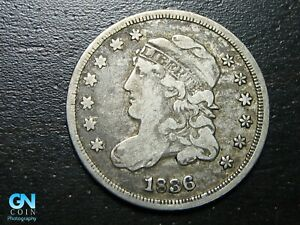 1836 CAPPED BUST HALF DIME      MAKE US AN OFFER   B9760