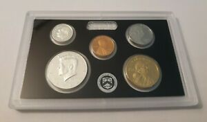 14 coins 2012 US Mint Silver Proof Set in box with COA