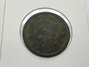 1851 LARGE CENT IN GOOD/FINE
