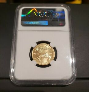 2020 $10 AMERICAN GOLD EAGLE 1/4 OZ NGC MS 70 DON EVERHART HAND SIGNED