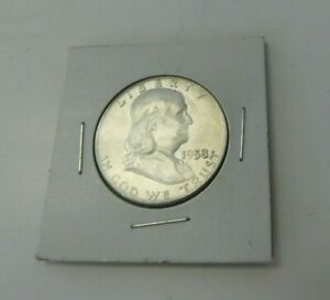 1958 BEN FRANKLIN  1948 1963  HALF DOLLAR