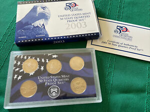 Click now to see the BUY IT NOW Price! 2003 S UNITED STATES MINT   STATE QUARTERS PROOF SET