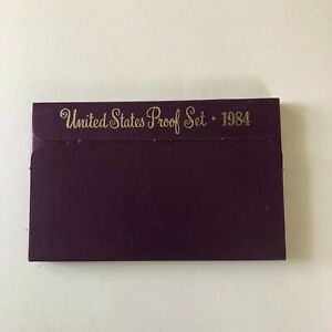 1984  US PROOF SET MINT COINS WITH ORIGINAL UNBROKEN GOVERNMENT PACKAGING