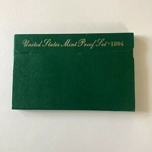 1994  US PROOF SET MINT COINS WITH ORIGINAL UNBROKEN GOVERNMENT PACKAGING