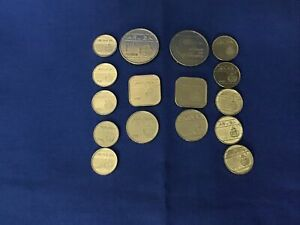 ARUBA COINS  SET OF 16 COINS: 5 CENT   1 FLORIN 1988 1996