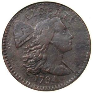 1794 LIBERTY CAP LARGE CENT >ANACS VF< S 64 R 5 >SUPER < SUPER FAST SHIPPING