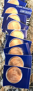 2009 P SATIN PRESIDENCY COPPER LINCOLN CENTS PENNIES UNC MINT SET SHIPS FREE
