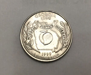 Click now to see the BUY IT NOW Price! 1999 P GEORGIA STATE QUARTER