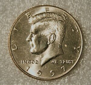1997 D KENNEDY HALF DOLLAR  FROM UNCIRCULATED US MINT ROLL