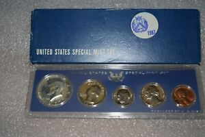 1967 UNITED STATES SPECIAL MINT SET 40  SILVER