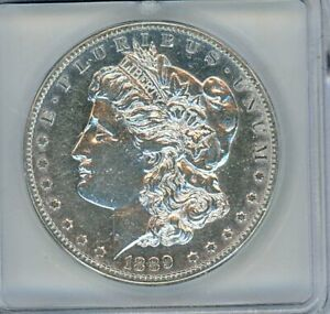 Click now to see the BUY IT NOW Price! 1889 CC MORGAN SILVER DOLLAR ICG AU50 DETAILS VAM2A LUSTER UPGRADE ? LOOKS