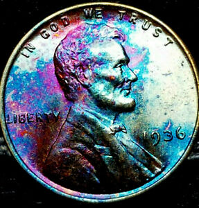 1936 P LINCOLN WHEAT PENNY CENT
