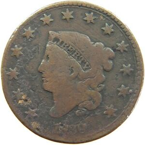 UNITED STATES LARGE CENT 1830 A62 345