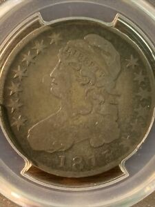 1813 CAPPED BUST HALF DOLLAR. SHIPS FREE