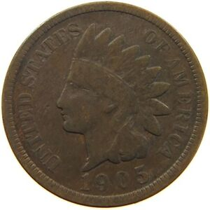 UNITED STATES CENT 1905 INDIAN HEAD A63 235