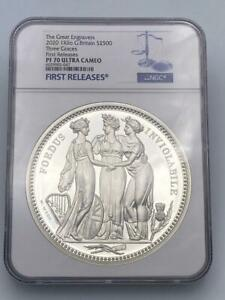 Click now to see the BUY IT NOW Price! 2020 ROYAL MINT THREE GRACES SILVER PROOF ONE KILO 1KG   NGC PF70 FIRST RELEASE