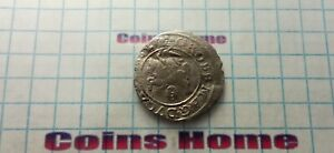 COINS HOME CIRCULATED MEDIEVAL 1626 GRAND DUCHY LITHUANIA 1 GROSZ LOT727917