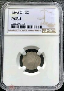 Click now to see the BUY IT NOW Price! 1896 O BARBER DIME NGC FA02