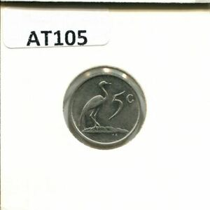 5 CENTS 1988 SOUTH AFRICA COIN AT105.U