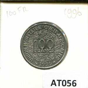 100 FRANCS CFA 1986 WESTERN AFRICAN STATES  BCEAO  COIN AT056.U