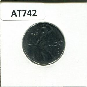 50 LIRE 1975 ITALY COIN AT742.U