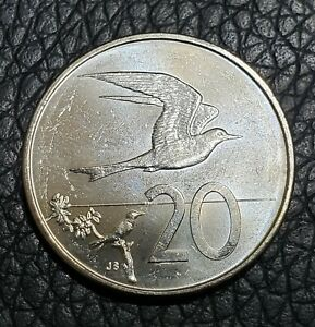 2015 COOK ISLANDS 20 CENT COIN