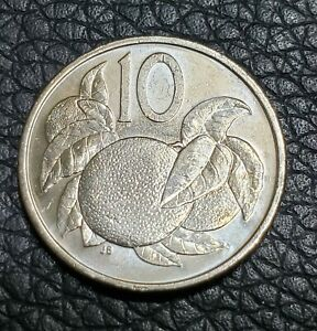 2015 COOK ISLANDS 10 CENTS COIN