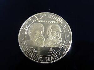 Click now to see the BUY IT NOW Price!  BATTLE OF MONOCACY FREDERICK MARYLAND  SILVER COIN
