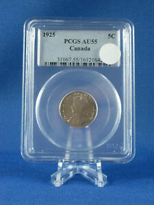 Click now to see the BUY IT NOW Price!   1925   PCGS GRADED NICKEL   AU 55