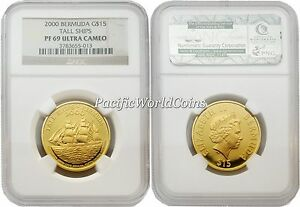 Click now to see the BUY IT NOW Price! BERMUDA 2000 TALL SHIPS $15 GOLD NGC PF69 ULTRA CAMEO
