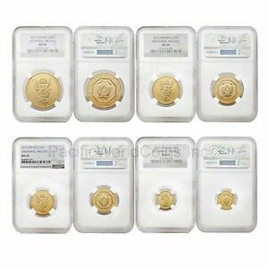 Click now to see the BUY IT NOW Price! UKRAINE 2013 ARCHANGEL MICHAEL 4PC GOLD NGC MS69 SET