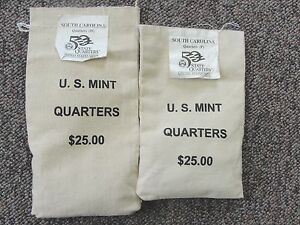 Click now to see the BUY IT NOW Price! 2000 P & D US MINT 50 STATE QUARTERS $25 BAGS SOUTH CAROLINA