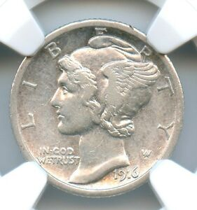 Click now to see the BUY IT NOW Price! 1916 D MERCURY DIME NGC AU 50 THE KEY DATE