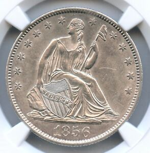 Click now to see the BUY IT NOW Price! 1856 O LIBERTY SEATED HALF DOLLAR NGC MS 61